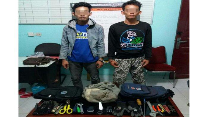 Kawanan Pencuri di Area Perumahan PT Chevron Pekanbaru Diringkus Polisi