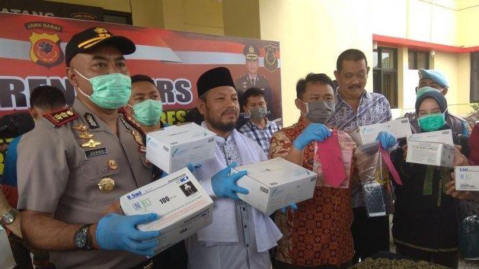 PNS di RS Cianjur Curi 360 Boks Masker, Raup Untung Rp 56 Juta setelah Beraksi 4 Kali