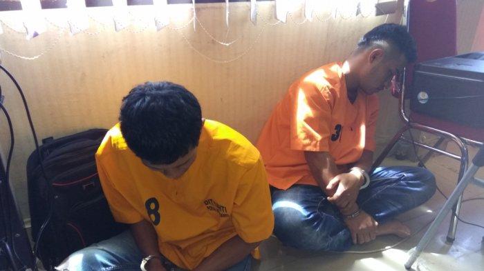 Merantau Bukannya Cari Kerja Halal, Dua Pria Ini Malah Lakukan Kejahatan Ini