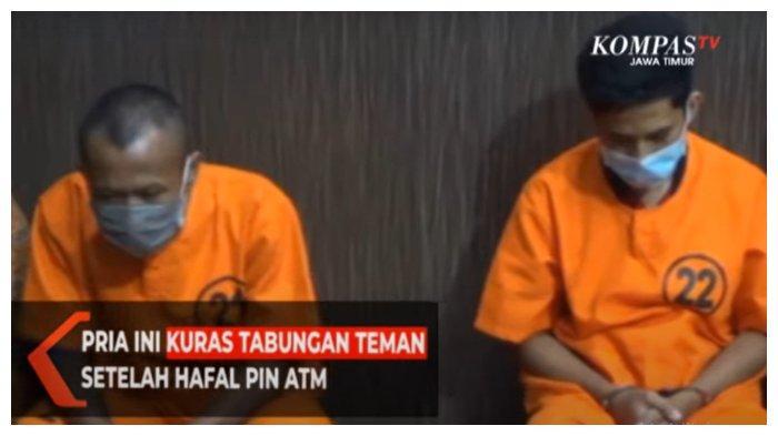 Pria di Blitar Gasak Uang Pelanggan Rp64 Juta, Pelaku Kenal Korban, Bahkan Tahu Pin ATM-nya