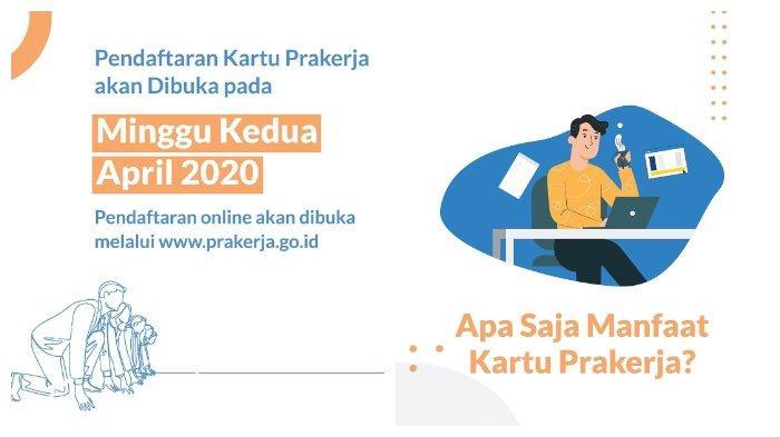 6 Langkah Pendaftaran Kartu Pra Kerja di prakerja.go.id, Dapatkan Insentif Rp 3,5 Juta & Manfaatnya.
