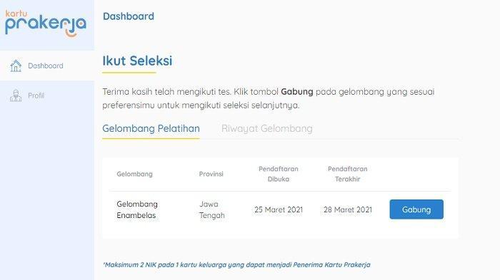 Daftar Kartu Prakerja Gelombang 16 di www.prakerja.go.id, Segera Sebelum Ditutup