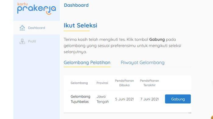 PENGUMUMAN Hasil Seleksi Kartu Prakerja Gelombang 17, Cek www.prakerja.go.id