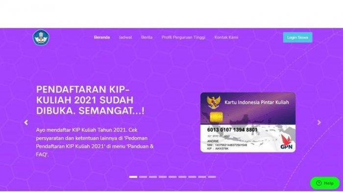 Daftar KIP-Kuliah 2021 Melalui kip-kuliah.kemdikbud.go.id, Berikut Syarat-syaratnya
