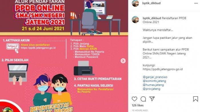 AKSES ppdb.jatengprov.go.id, PPDB Online SMA/SMK di Jateng Telah Dibuka, Ini Cara Mendaftarnya