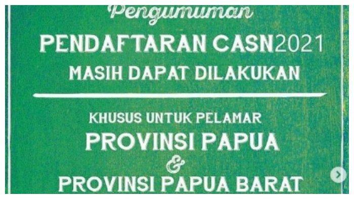 Pendaftaran PPPK Guru 2021 di Papua dan Papua Barat Diperpanjang, Cek Alur Pendaftarannya