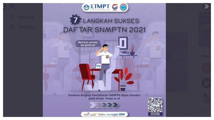 Pendaftaran SNMPTN 2021 Ditutup 2 Hari Lagi, Segera Akses www.ltmpt.ac.id