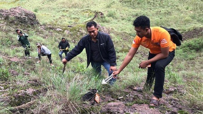 Diduga Kelelahan, Pendaki Gunung Batur Ditemukan Tewas Terpeleset Jatuh ke Jurang Sedalam 40 Meter