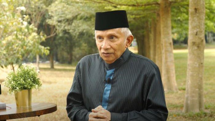 Pendiri PAN yang juga tokoh reformasi, Amien Rais