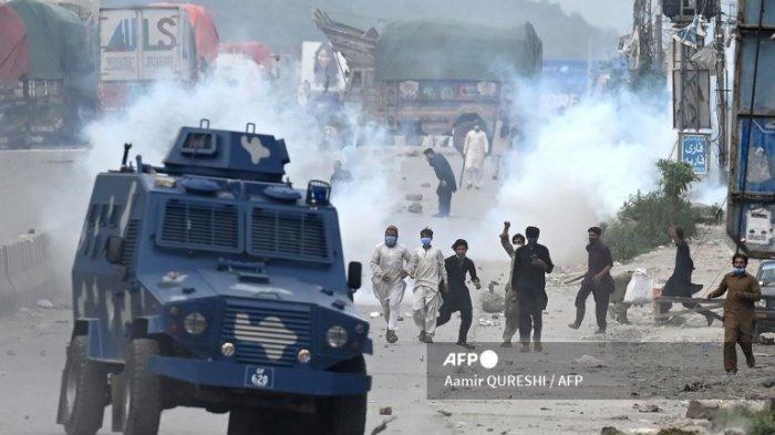 Prancis Imbau Warganya Tinggalkan Pakistan setelah Protes Anti-Prancis Meletus