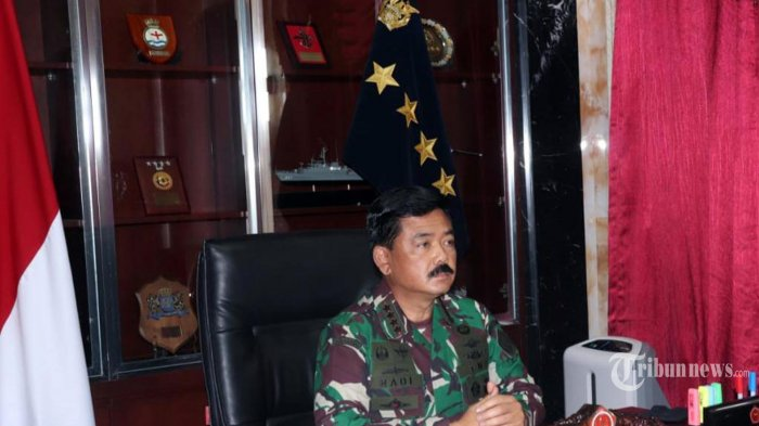 Panglima TNI Bahas Latihan dan Kerja Sama Militer dengan Angkatan Bersenjata Singapura