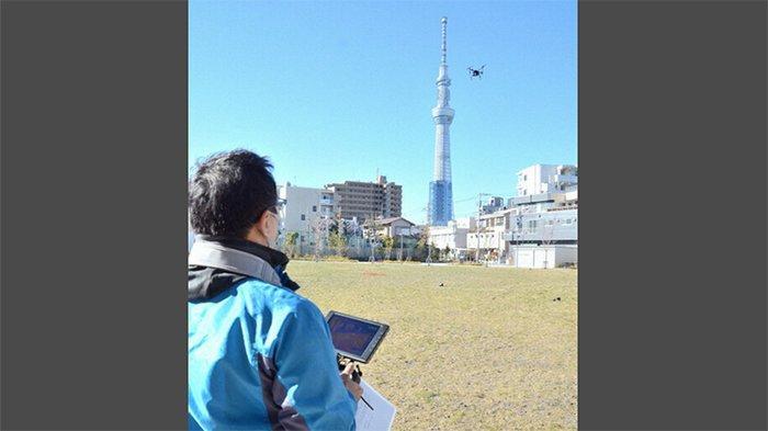 Di Jepang Drone Digunakan untuk Mendeteksi Rumah Kosong