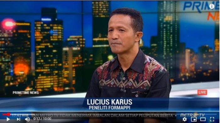 Menanggapi polemik ini, Peneliti Forum Masyarakat Peduli Parlemen Indonesia (Formappi), Lucius Karus buka suara.Ia menilai di tahun pertama DPR 2019-2024 mulai bekerja.Isu tentang penggerebekan yang dilakukan oleh Anggota DPR justru mengangetkan, bukan kinerja mereka.