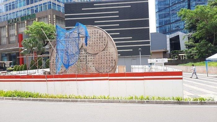 Habiskan Dana Rp 800 Juta, Pembangunan Tugu Sepeda Dikritik Komunitas Sepeda dan Legislator