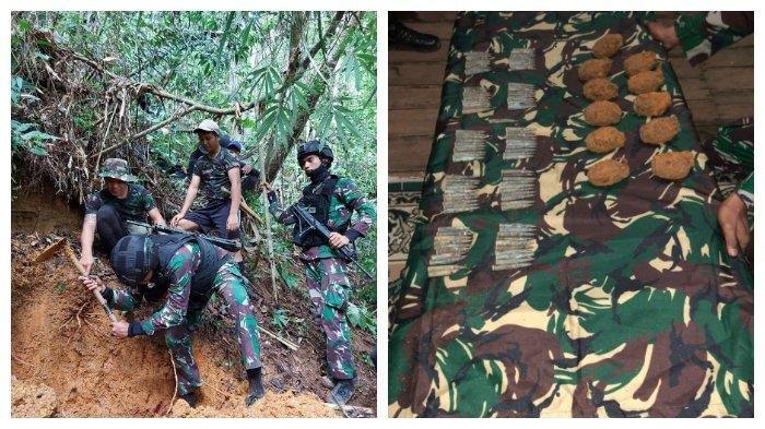 Lagi, 101 Amunisi dan 11 Granat Tangan Ditemukan di Hutan Lumbis Nunukan Kaltara