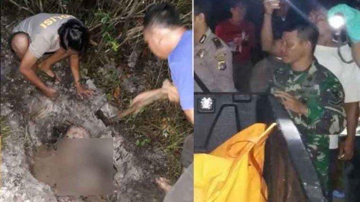 Cemburu Buta Suami Siri, Wanita Asal Cianjur Dicekik Lalu Ditimbun di Pinggir Sungai