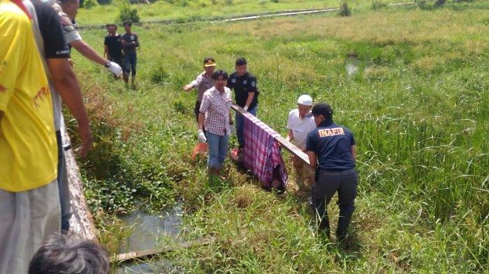 Mayat Perempuan Tertelungkup di Dekat Kawasan Perumahan Tanjung Raya Permai