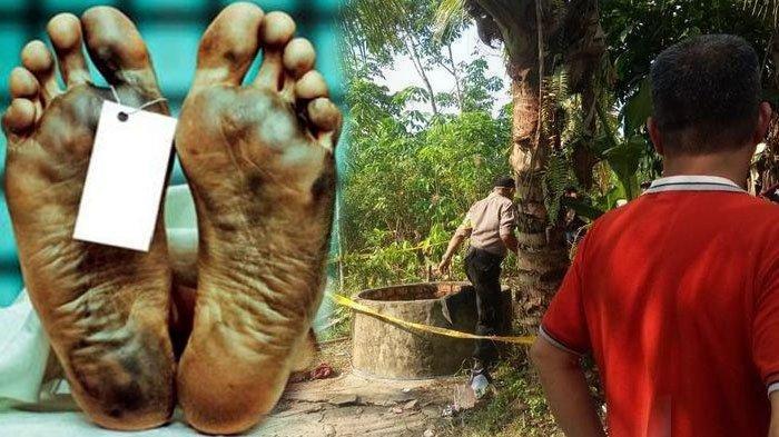 Penemuan mayat murid SMK dalam sumur di Palembang