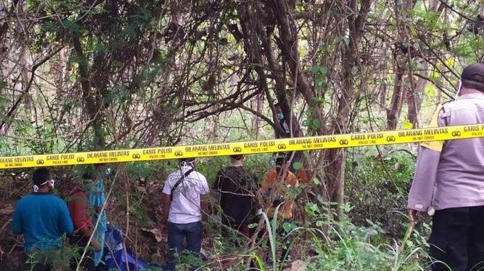 Penemuan Mayat Pria Menggantung di Akar Pohon di Hutan Tuban, Kondisi Sudah Tak Utuh