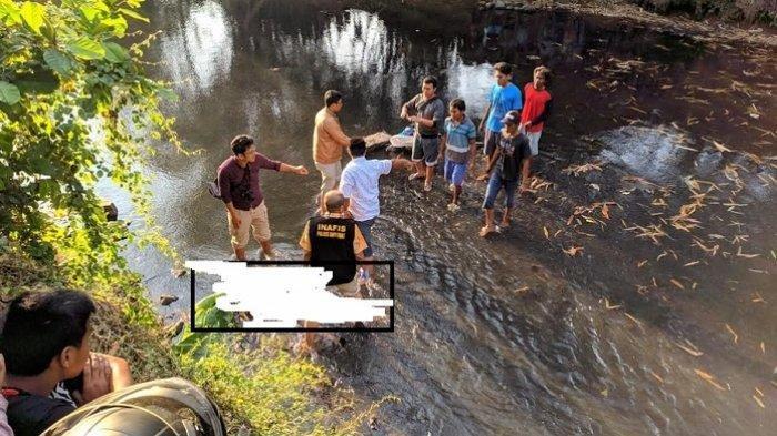 Penemuan sesosok mayat laki-laki, di Desa Kalibagor, Kecamatan Kalibagor, Kabupaten Banyumas, pada Kamis (26/9/2019) sekira pukul 15.13 WIB. TRIBUNJATENG/Permata Putra Sejati