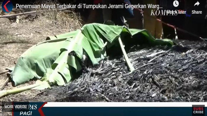 Penemuan mayat terbakar di banyuwangi