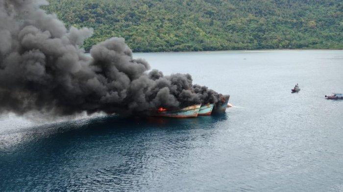penenggelaman 10 kapal illegal fishing
