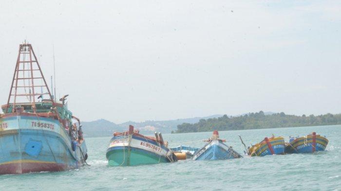 Putusan Inkracht, KKP Tenggelamkan 10 Kapal Pelaku Illegal Fishing