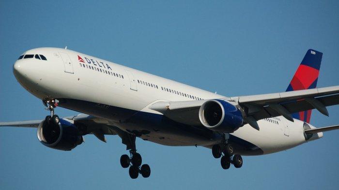 Seorang Penumpang Tolak Kenakan Masker, Penerbangan Delta Airlines Harus Berbalik Arah