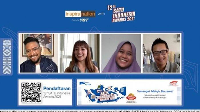 12th SATU Indonesia Awards 2021 Ajak Anak Muda Semangat Berwirausaha