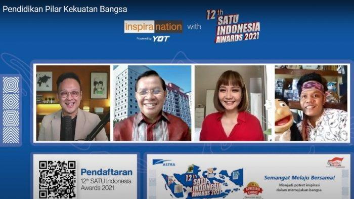 Pendidikan Pilar Kekuatan Bangsa Dalam Inspiranation 12th SATU Indonesia Awards 2021