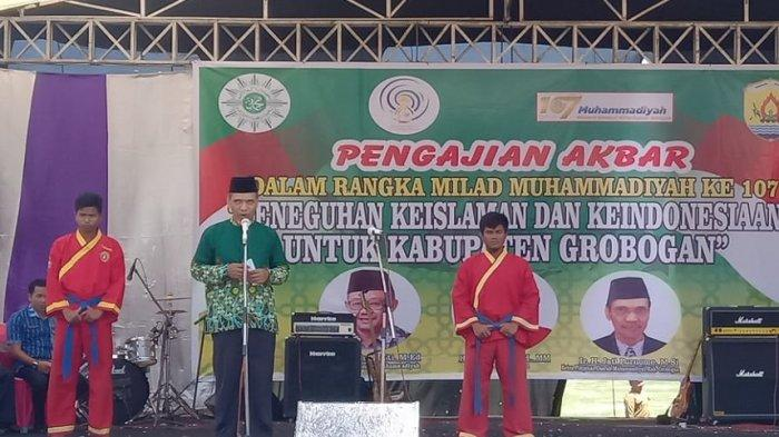 Refleksi Milad Muhammadiyah ke-107 di Grobogan, Sekretaris PP Muhammadiyah Ajak Rawat Persatuan