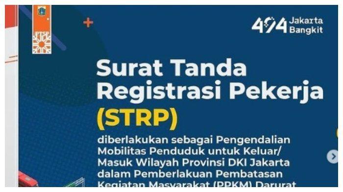 PPKM Level 4 Diperpanjang, Polisi: STRP Tetap Jadi Syarat Melintas Pos Penyekatan