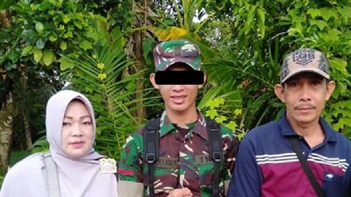 Prada DP Pelaku Mutilasi Kasir Indomaret Vera Oktaria Saat Ditemukan Warga Kondisinya Lusuh