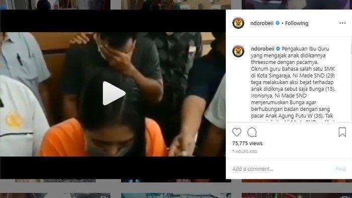Pengakuan pelaku threesome hubungan bertiga di Buleleng Bali