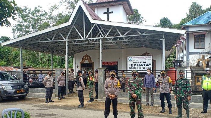 Tingkatkan Pengamanan, Polda Kalsel Sterilisasi dan Patroli di Sejumlah Tempat Ibadah
