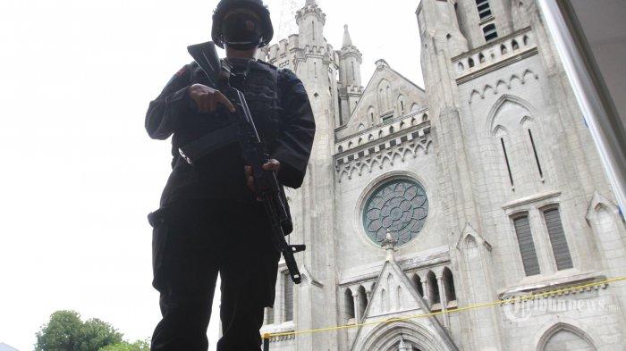 Antisipasi Aksi Terorisme Jelang Paskah, Keuskupan Agung Jakarta Imbau Gereja Tingkatkan Keamanan