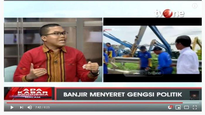 Pengamat Politik Sebut Ada Pesan Tersembunyi untuk Anies Dibalik Kunjungan Jokowi ke Waduk Pluit