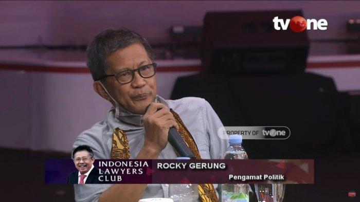 ILC Soal Habib Rizieq Batal Tayang, Rocky Gerung Ragukan Vlog Karni Ilyas : Orang Gak Percaya Lagi