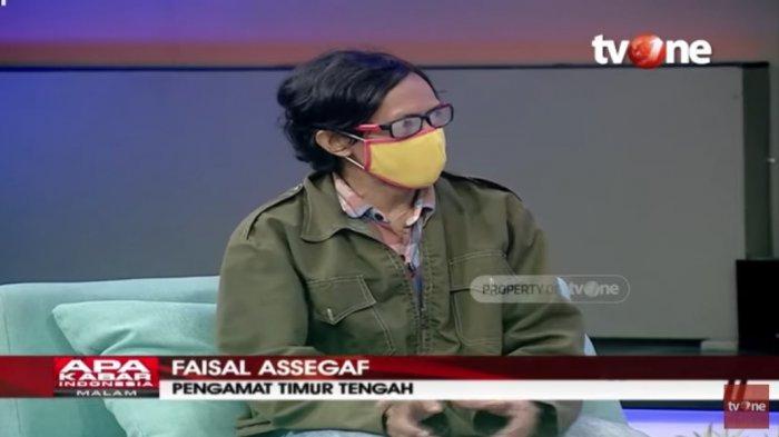 Pengamat politik Timur Tengah, Faizal Assegaf
