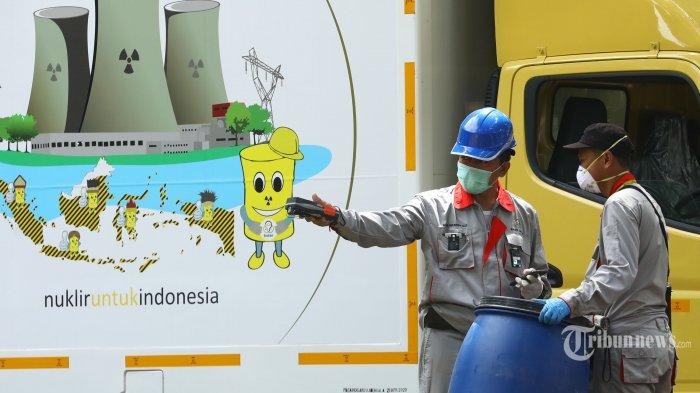 Hari Ini Dekontaminasi Area Terpapar Radiasi di Tangerang Selatan Dilanjutkan, 100 Drum Disiapkan