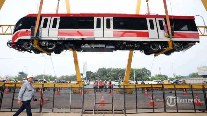 Menteri Budi Karya Targetkan LRT Jabodebek Mulai Beroperasi Tahun 2021