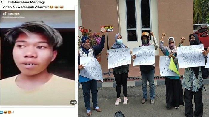 Viral Video YouTuber Hina Perempuan Bau Busuk, Pengantin Maskawin Sandal Jepit akan Dilaporkan
