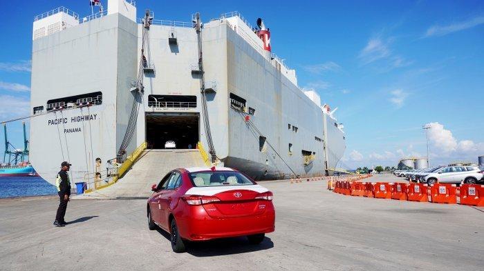 Ekspor Mobil CBU Toyota Menggeliat, Triwulan I 2021 Tembus 49.200 Unit