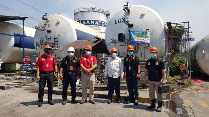 Dukung Kelancaran Distribusi Oksigen, Kemnaker Kerahkan Pengawas Ketenagakerjaan Supervisi ISO Tank