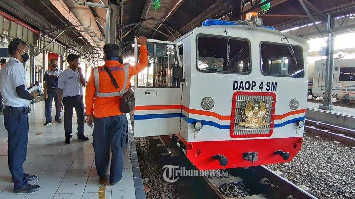 Stasiun Semarang Tawang Dikepung Banjir, KAI Daop 4 Alihkan Rute Perjalanan Kereta ke Lintas Selatan