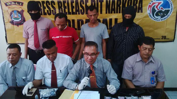 Polisi Bongkar Jaringan Pengedar Narkoba di Lapas Kerobokan
