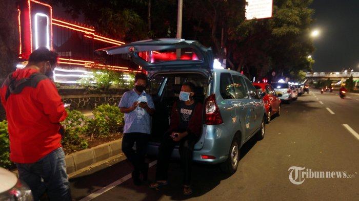Sopir Taksi Online Ini Berani Ambil Order Antar Pemudik Pulang Kampung Meski Risikonya Berat