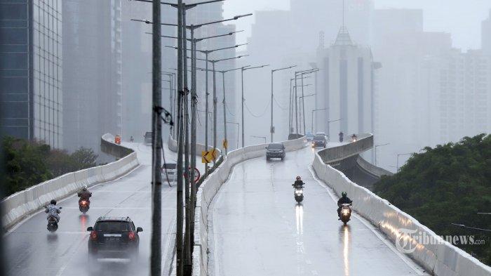 Prakiraan Cuaca Jabodetabek Besok Kamis 25 Februari 2021, BMKG: Jakarta Hujan dari Pagi hingga Malam
