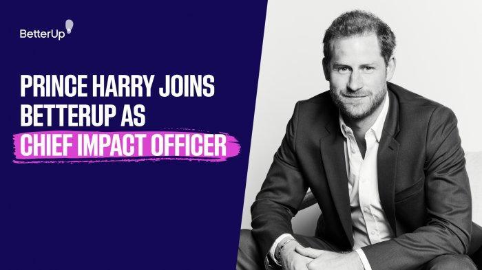 Pengertian Chief Impact Officer, Jabatan Baru Pangeran Harry di BetterUp Inc, Berapa Gajinya?
