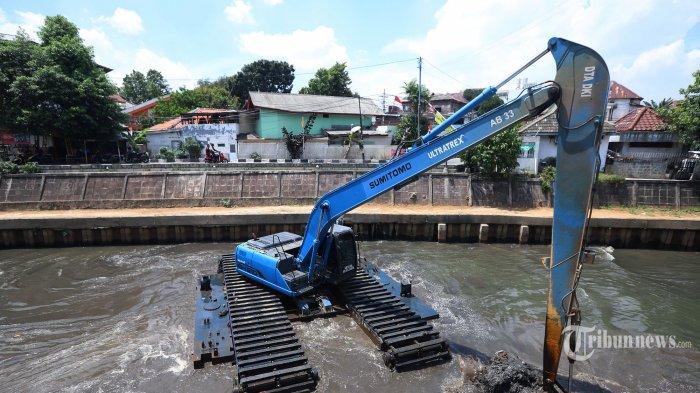 Kondisi 13 Sungai di Jakarta Pagi Ini, Pintu Air Manggarai dan Angke Hulu Siaga 3